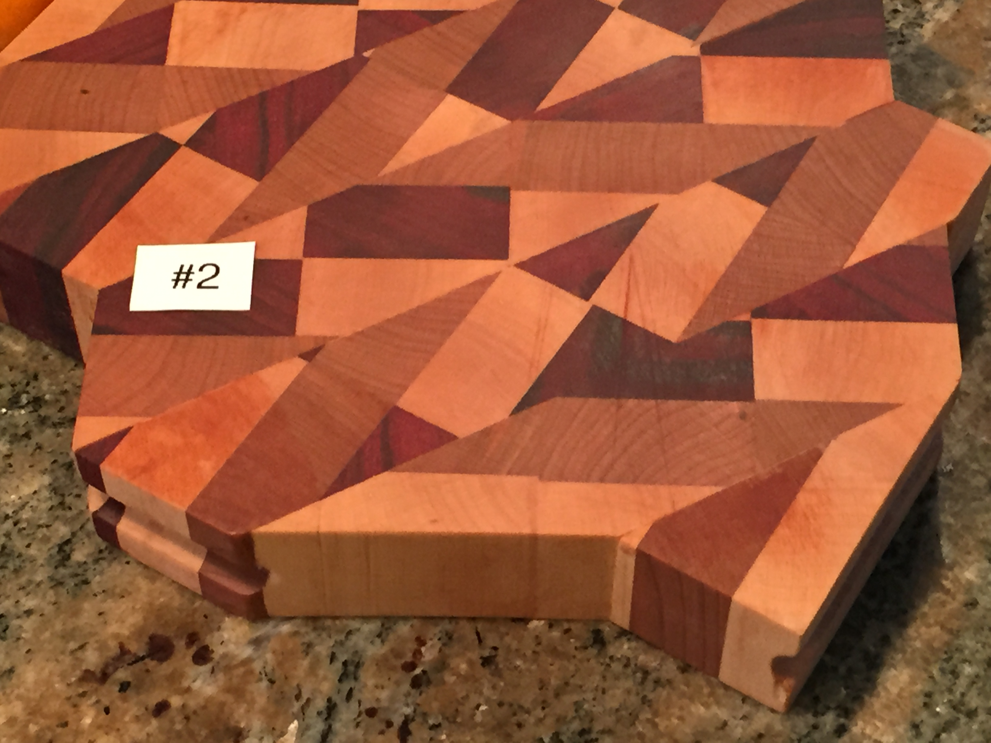 Freeform Shape serving/cutting board