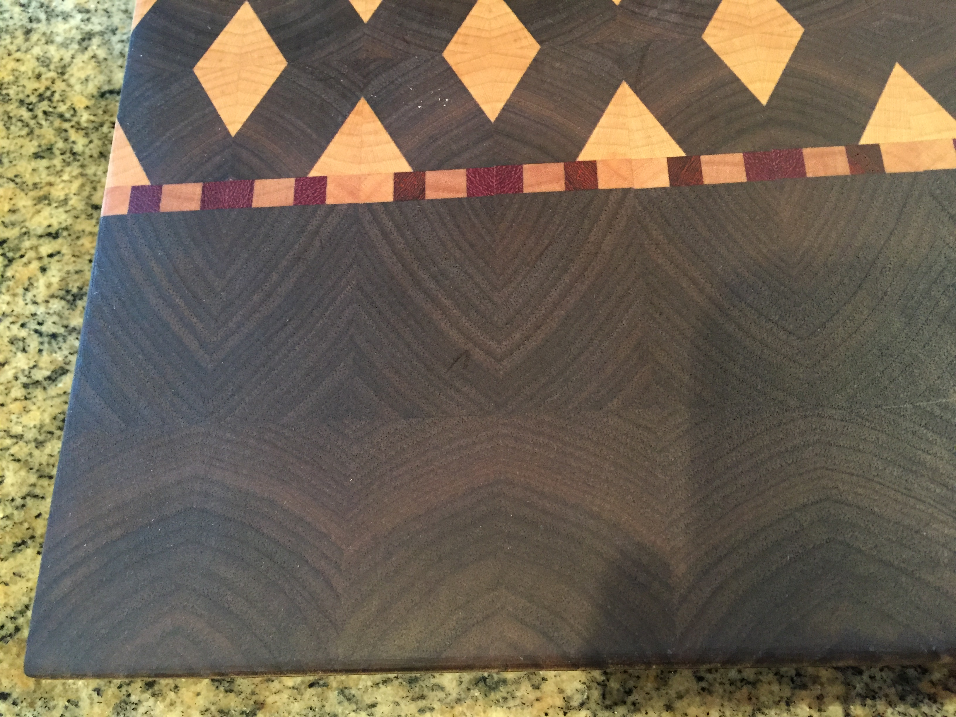 #6 Serving/cutting board geometric design