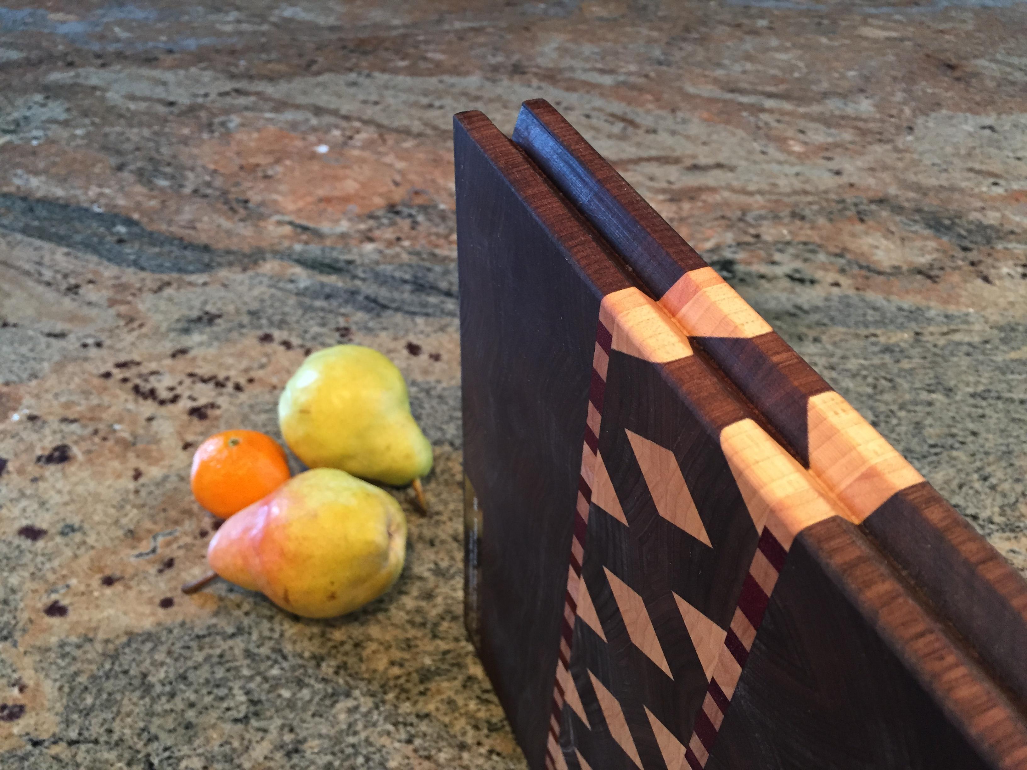 #6 Serving/cutting board geometric design