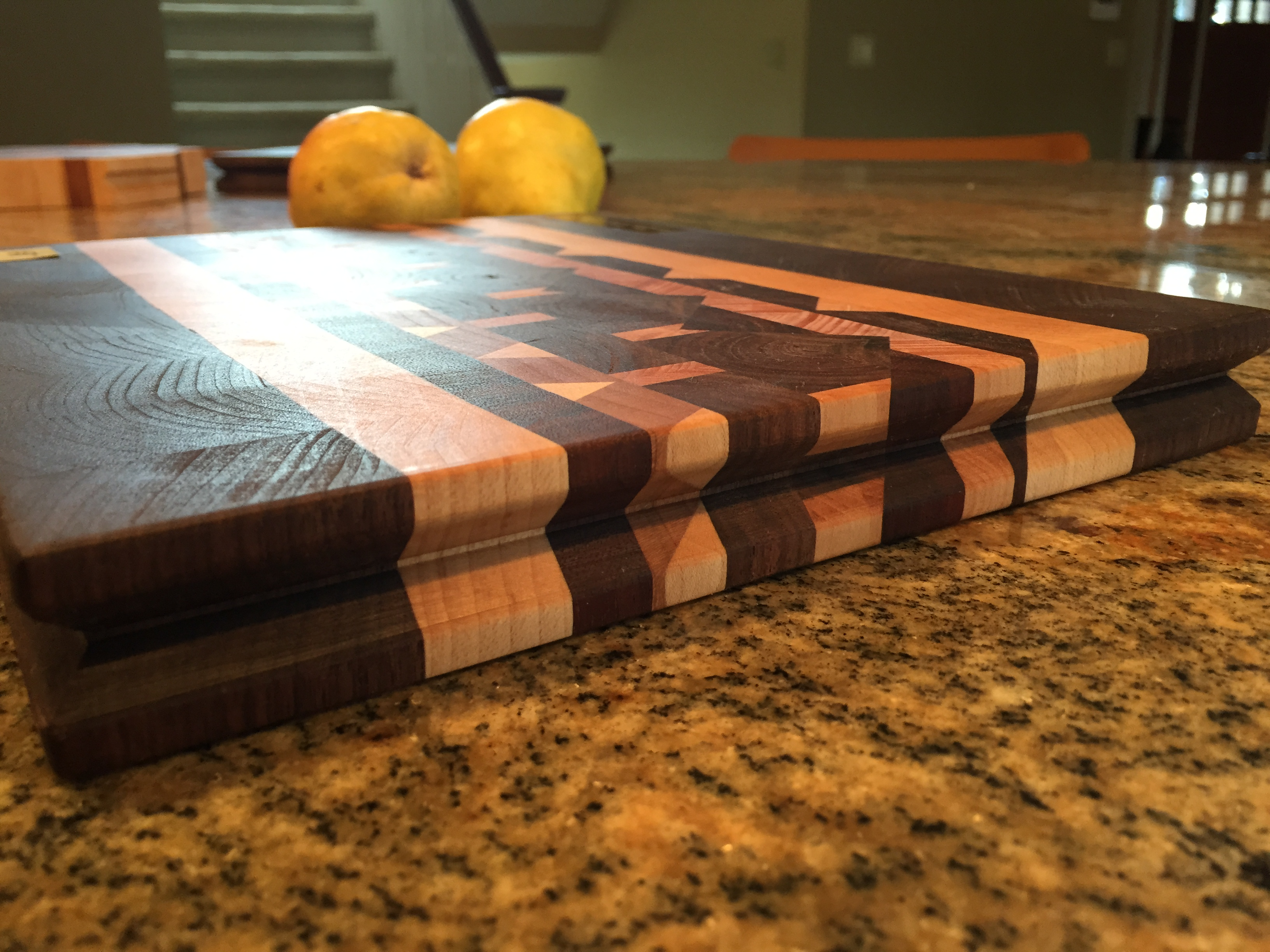 #7 Serving/cutting board geometric design