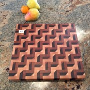 #12 Rectangular serving/cutting board 3D illusion