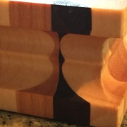 #14 Rectangular serving/cutting board 3D illusion
