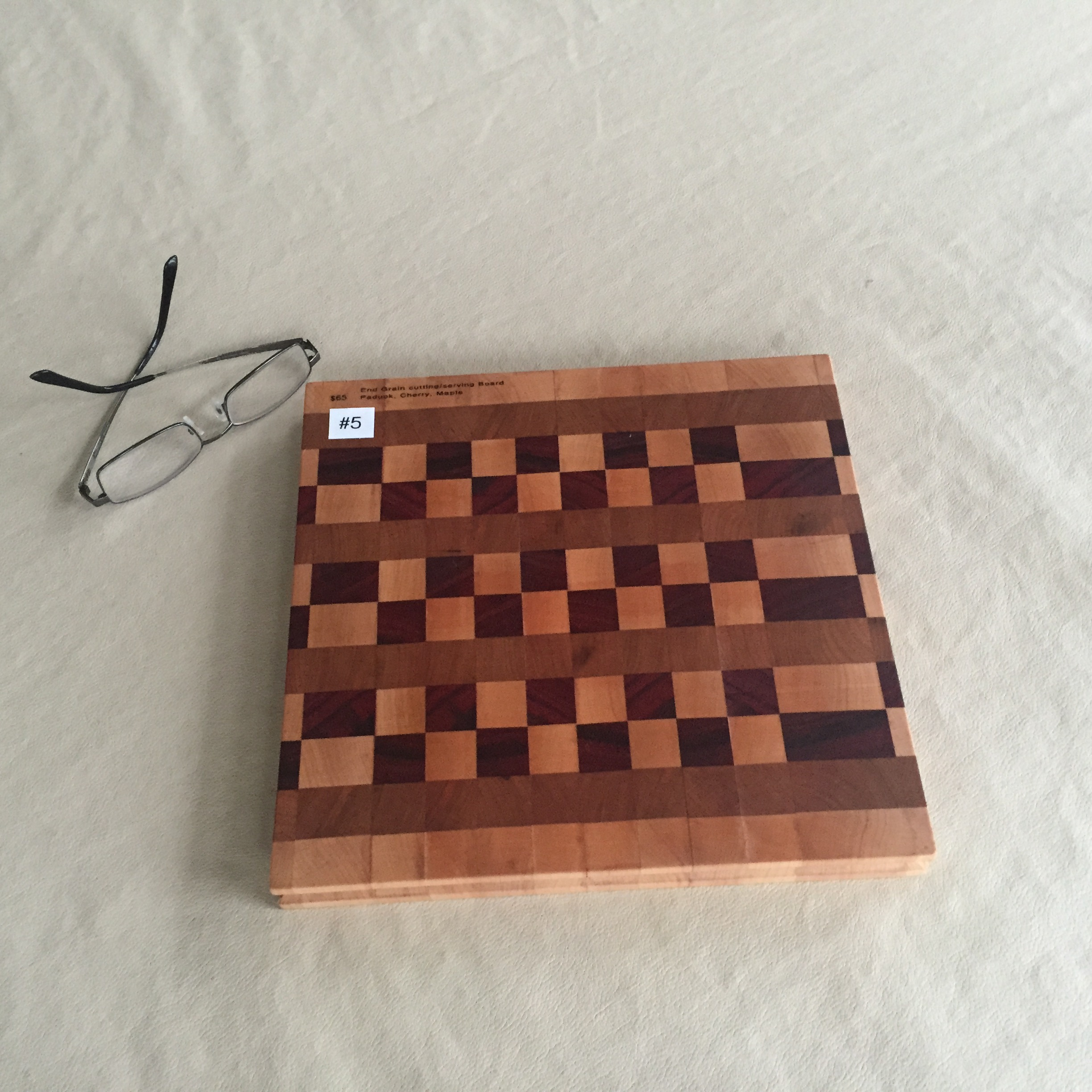 #5 Square serving/cutting board