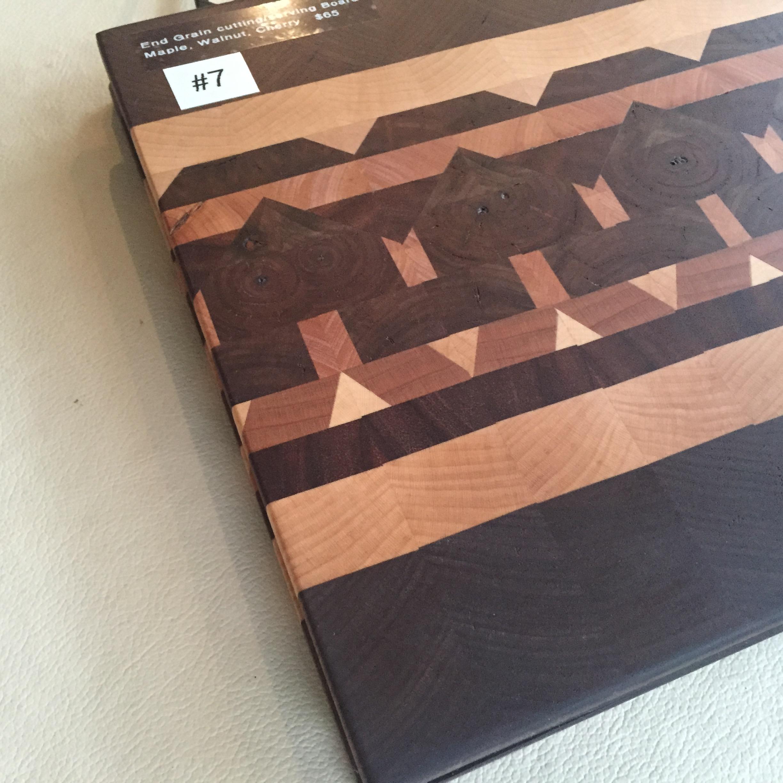 #7 Serving/cutting board geometric design