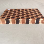 #13 Rectangular serving/cutting board 3D illusion